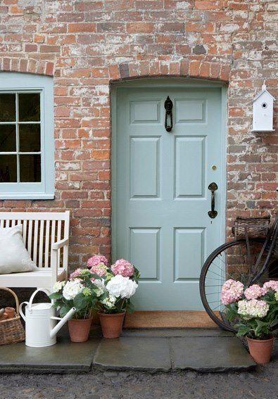 Front Door via Little Greene - Homelement Furniture Design