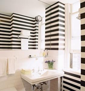 Striped Bathroom Walls - Snyder Diamond - Homelement Furniture Design
