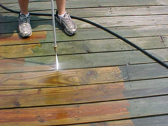 Regular Deck Maintenance