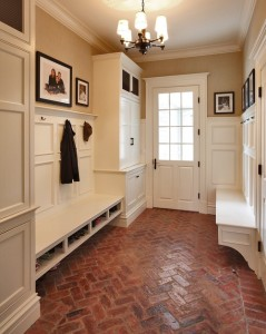 Hunting Ridge Road mud room, NY. Country Club Homes - Homelement Furniture Design
