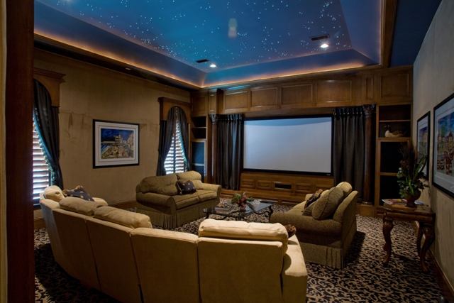 Ways To Design A Practical Media Room Home Decorating Tips