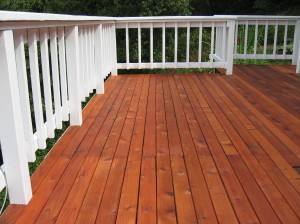Stained Deck - Homelement Furniture Design