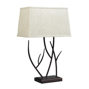 Elk Lighting D2209 Winter Harbour Table Lamp - Bronze
