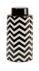 IMAX Chevron Large Canister w/ Lid