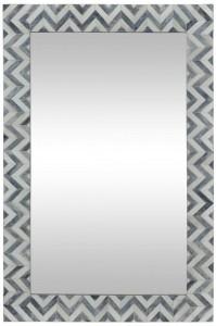 Ren-Wil Abscissa Mirror - Grey/Ivory