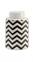 IMAX Chevron Small Canister w/ Lid