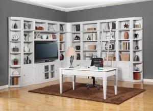 Parker House Boca Library Bookcase Wall Unit Set - E