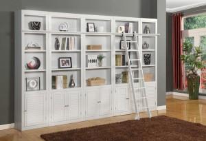 Parker House Boca Library Bookcase Set - B