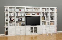 Parker House Boca Library Bookcase Entertainment Set - E
