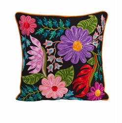 IMAX Midnight Floral Pillow
