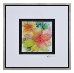 Ren-Wil Tropic Tangles I PS Framed Painting