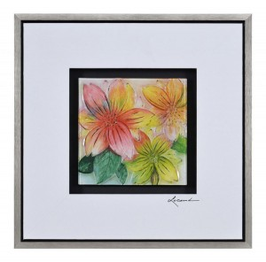 Ren-Wil Tropic Tangles II PS Framed Painting