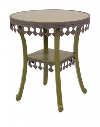 IMAX Ella Elaine Accent Table - Green