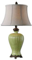 Uttermost Morbello Antique Green Table Lamp