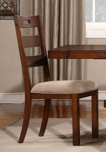 Homelegance Clayton Side Chair - Dark Oak