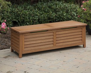 Home Styles Montego Bay Deck Box - Eucalyptus