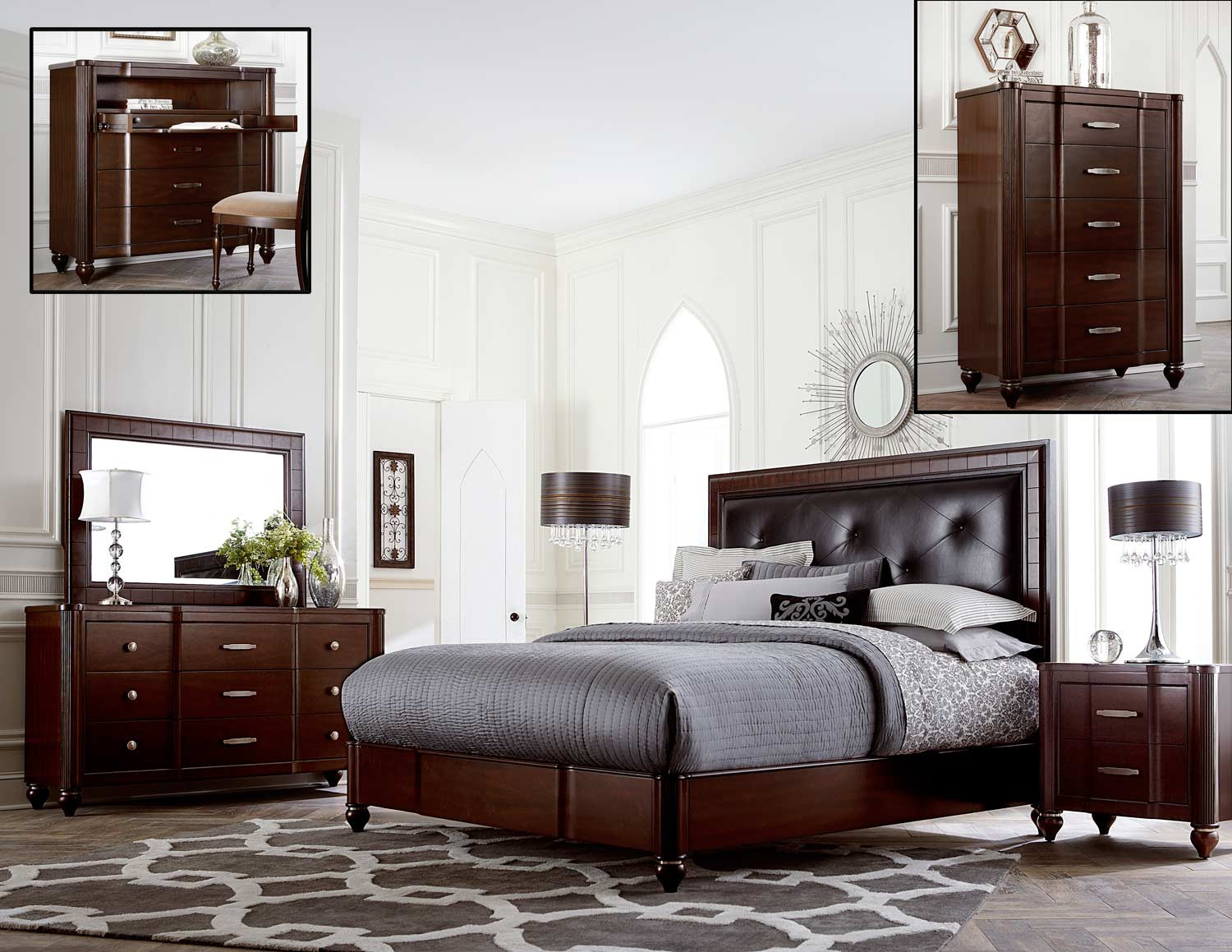 Collection Spotlight: Hillsdale Furniture Roma Bedroom Collection