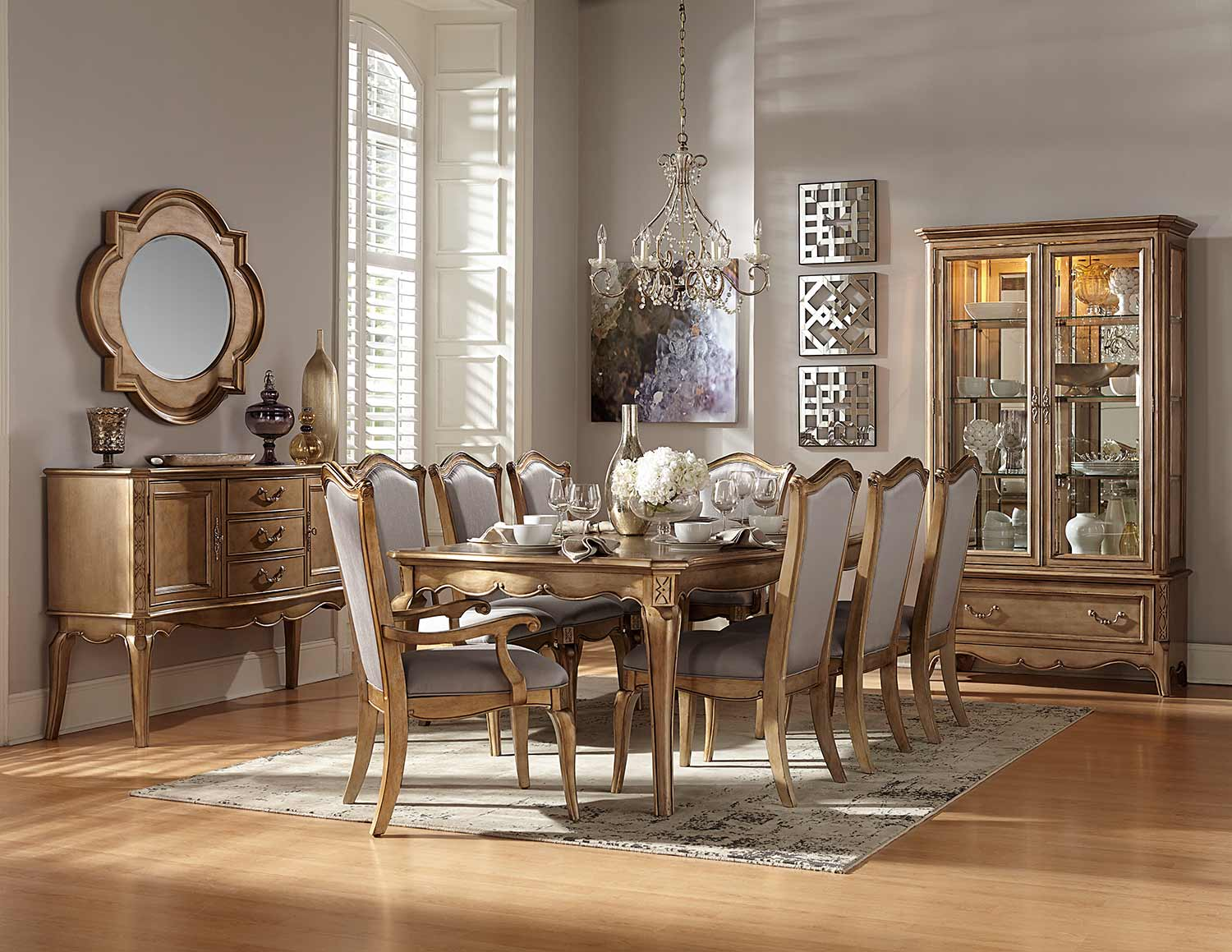 Collection Spotlight: Homelegance Chambord Dining Collection