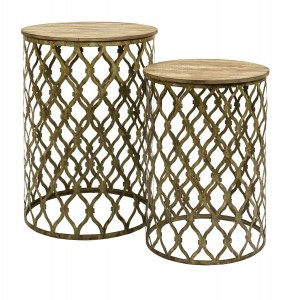 IMAX Maridell Nesting Tables - Set of 2