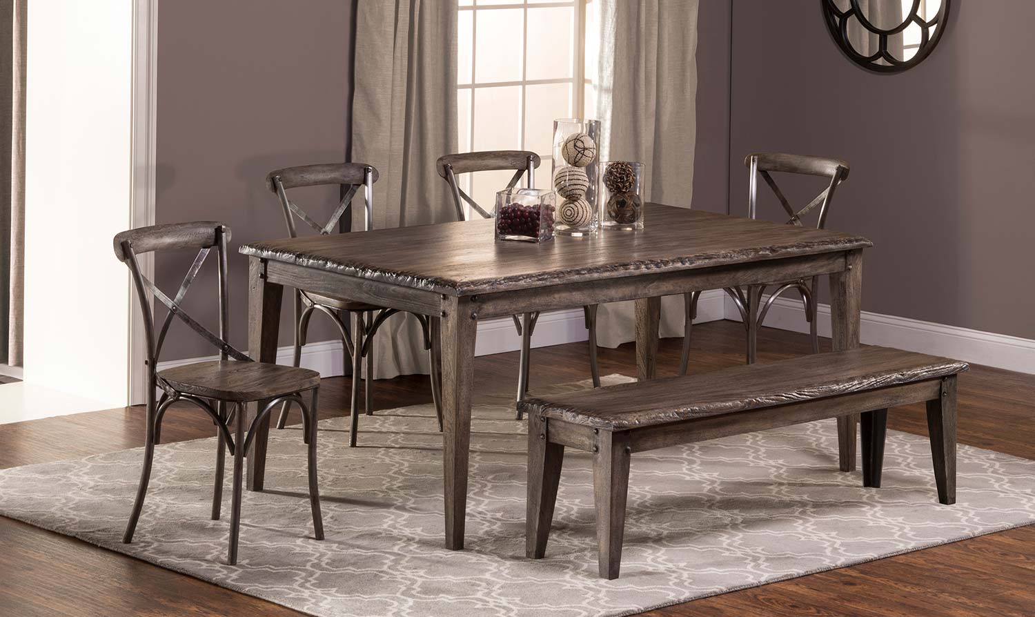 155f8b9bf44 Hillsdale Furniture  Lorient Dining Collection – Home Decorating ...