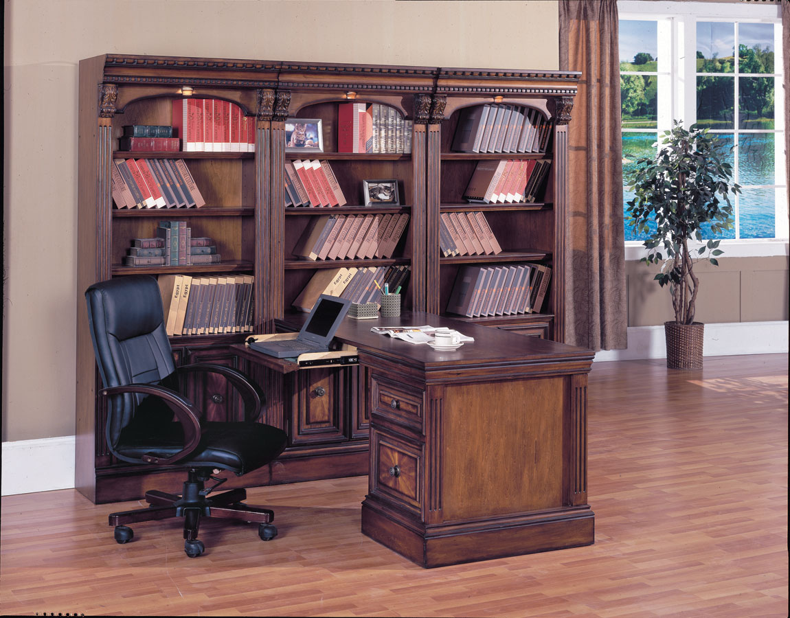 Home Office Sets Painted Office 5 Piece: Parker House Furniture: Huntington 5 Piece Home Office Set