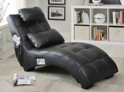 Coaster 550018 Chaise - Black
