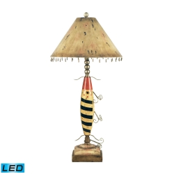 Elk Lighting 93-704-LED Fishing Lure Table Lamp
