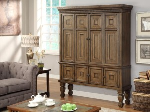 Parker House Aria 60in TV Entertainment Armoire