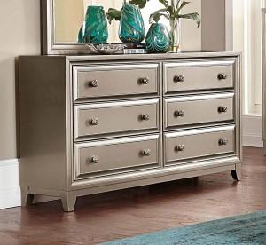 Homelegance Hedy Dresser - Silver