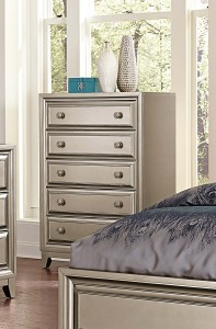 Homelegance Hedy Chest - Silver