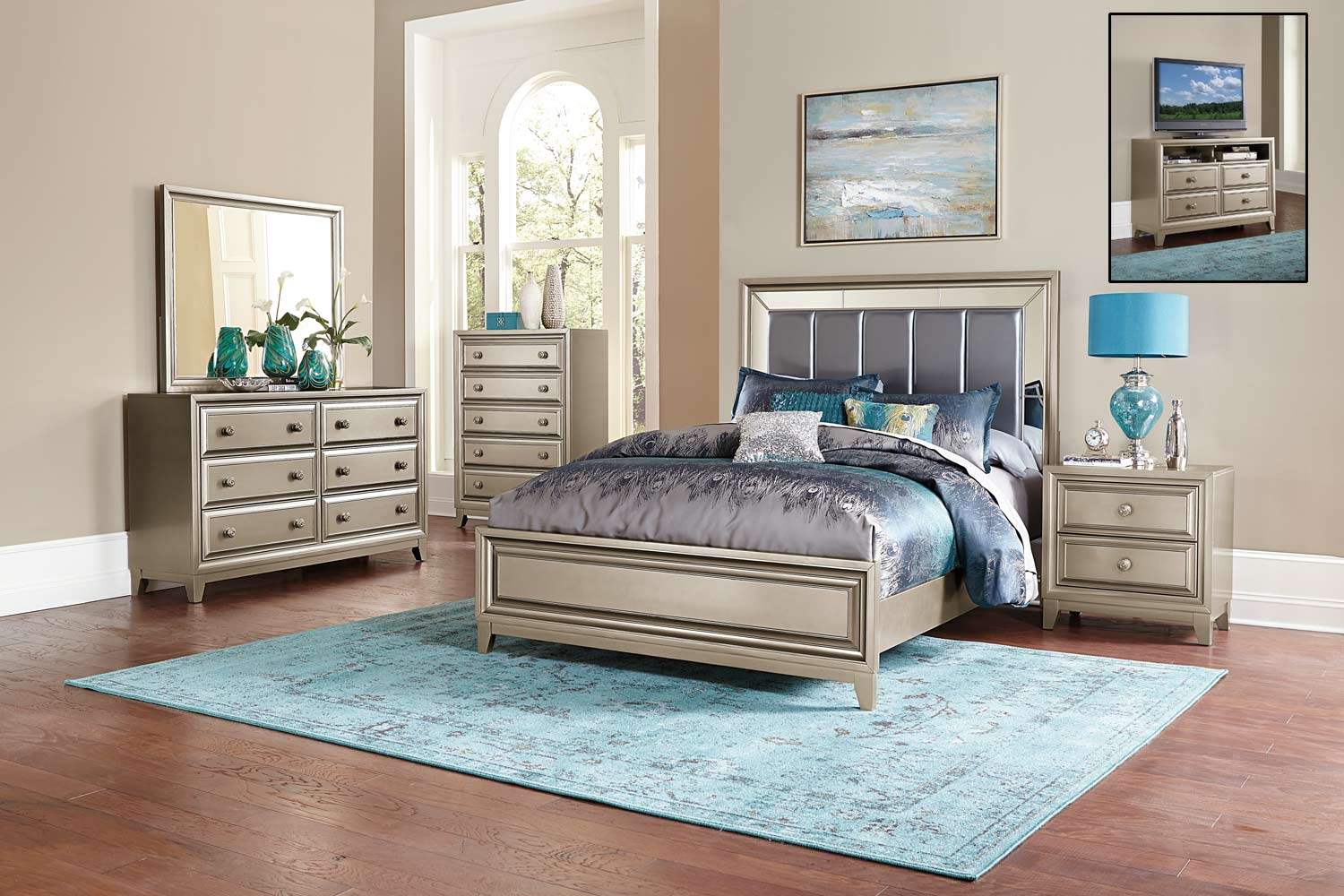 Homelegance Furniture: Hedy Bedroom Collection