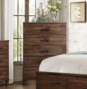 Homelegance Brazoria Chest - Distressed Natural Wood
