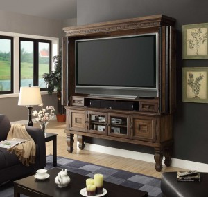 Parker House Aria 75in TV Entertainment Armoire