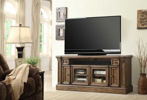 Parker House Aria 67in TV Console with Power Center