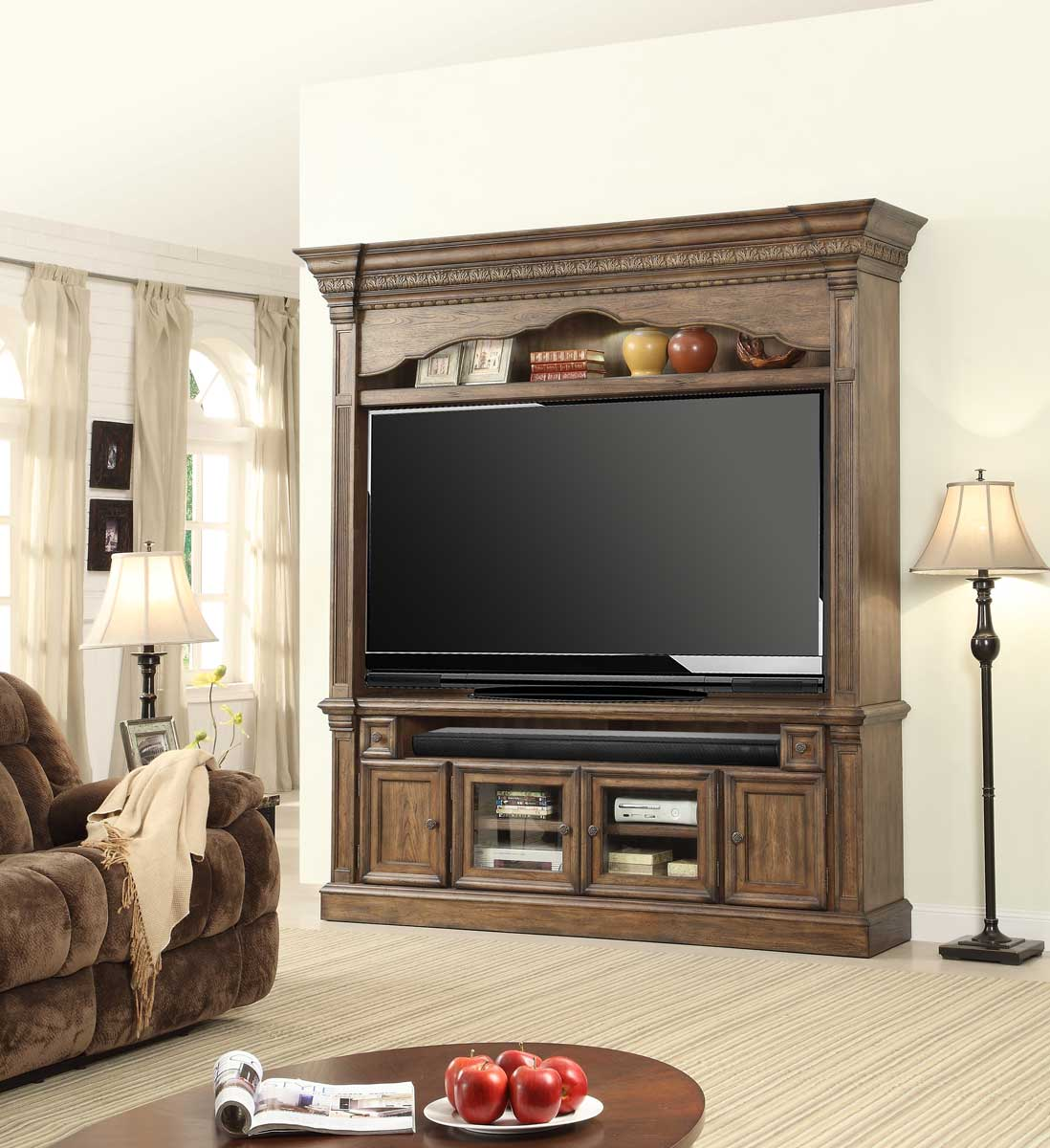 Parker House Furniture Aria Collection: Consoles, Armories, and Entertainment Centers