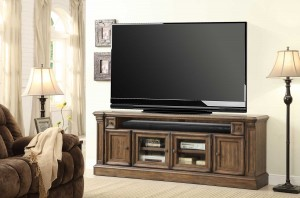 Parker House Aria 79in TV Console with Power Center