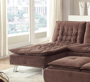 Coaster Lyell Chaise - Brown
