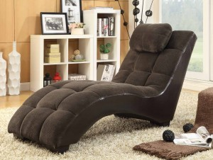 Coaster Millie Chaise - Brown