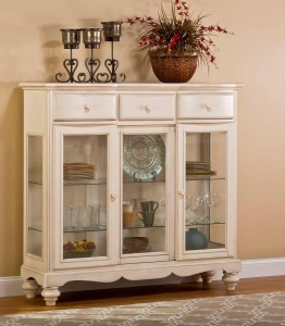 Hillsdale Pine Island Tall Buffet - Old White