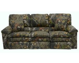 CatNapper Duck Dynasty Trapper Reclining Sofa - Mossy Oak New Breakup