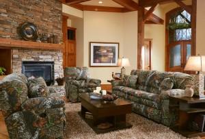 CatNapper Duck Dynasty Trapper Reclining Sofa Set - Mossy Oak