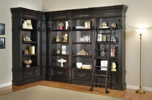 Parker House Grand Manor Palazzo Museum Bookcase Library Wall 1