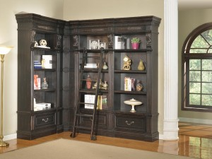 Parker House Grand Manor Palazzo Museum Bookcase Library Wall 3