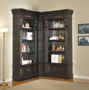 Parker House Grand Manor Palazzo Museum Bookcase Library Wall 4