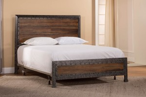 Hillsdale Mackinac Bed - Old Black with Driftwood