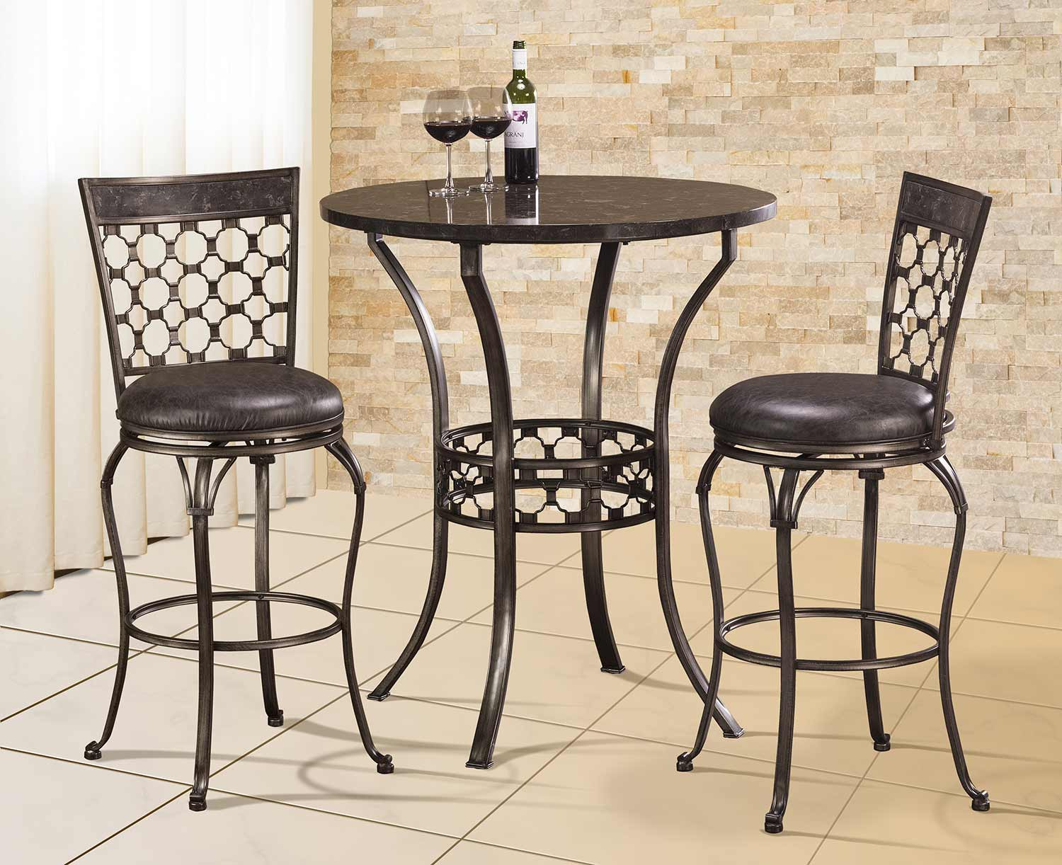 New! Antique Metal Dining Sets by Hillsdale Furniture