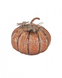 IMAX Easton Copper Pumpkin- Small