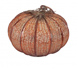 IMAX Easton Copper Pumpkin- Large
