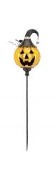 IMAX Jackson Jack O Lantern Yellow Stake