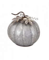 IMAX Kellan Galvanized Pumpkin - Medium